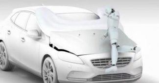 Volvo V40 : un airbag pieton